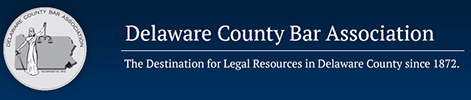 Logo Recognizing Gregory L. Schell, Esq's affiliation with Delaware County Bar Association